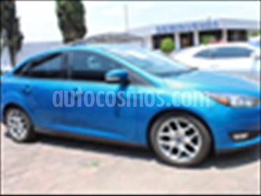 Foto venta Auto usado Ford Focus SE Luxury Aut (2016) color Azul Electrico precio $220,000