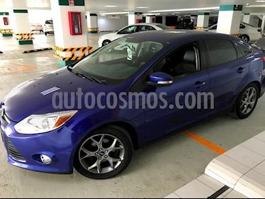 Ford Focus SE Plus Aut usado (2013) color Azul Prusia precio $144,000