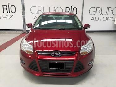 Ford Focus SE usado (2013) color Rojo precio $139,000