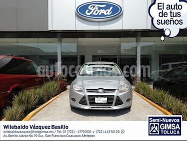 Foto venta Auto usado Ford Focus Sedan S 4-ptas MT (2013) color Plata precio $109,000