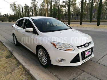 Ford Focus SEL Aut usado (2012) color Blanco Oxford precio $138,000
