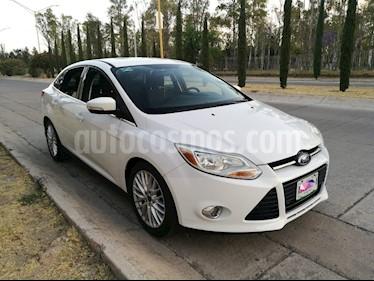 Foto venta Auto usado Ford Focus SEL Aut (2012) color Blanco Oxford precio $138,000