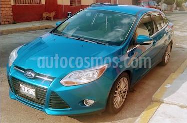 Ford Focus SEL Aut usado (2012) color Azul Brillante precio $120,000