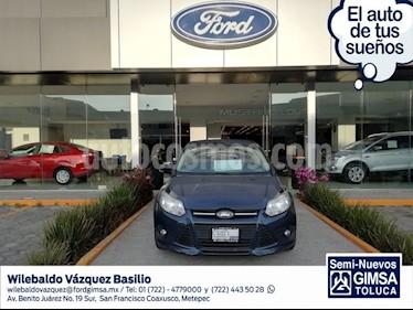 Foto venta Auto usado Ford Focus TREND 5-ptas (2014) color Gris precio $142,000