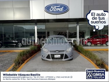 Foto venta Auto Seminuevo Ford Focus TREND SPORT 4-ptas (2014) color Plata precio $142,000
