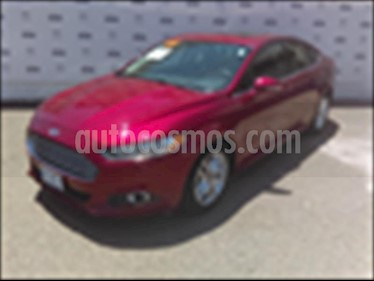 Foto Ford Fusion 4P SE L4 2.5 AUT usado (2015) color Rojo precio $199,000