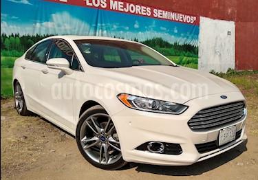 Foto venta Auto Seminuevo Ford Fusion 4p Titanium Plus L4/2.0/T Aut (2016) color Blanco precio $299,000