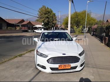 Ford Fusion 2.5L SE Aut usado (2015) color Blanco Oxford precio $12.990.000