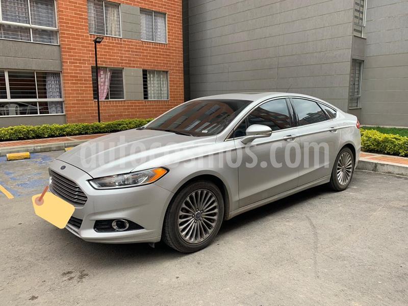 foto Ford Fusion 2.0L Titanium usado (2016) color Plata Puro precio $58.500.000
