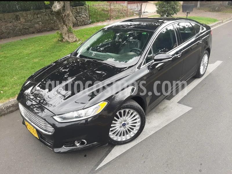 Ford Fusion 2.0L Titanium usado (2014) color Negro precio $48.900.000