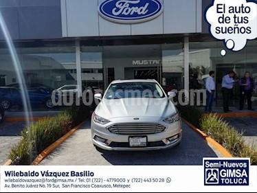 Foto venta Auto usado Ford Fusion HEV SE LUX (2018) color Plata precio $435,000