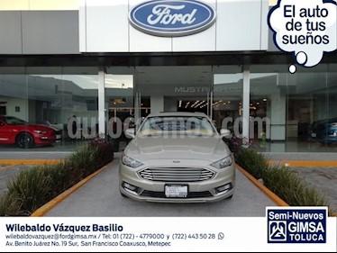Foto venta Auto usado Ford Fusion HEV SE LUX (2017) color Arena precio $360,000