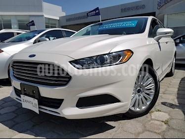 Foto venta Auto usado Ford Fusion HEV SE LUX (2016) color Blanco precio $309,000