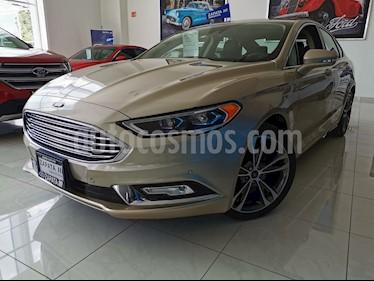 Ford Fusion Titanium usado (2016) color Bronce precio $320,000