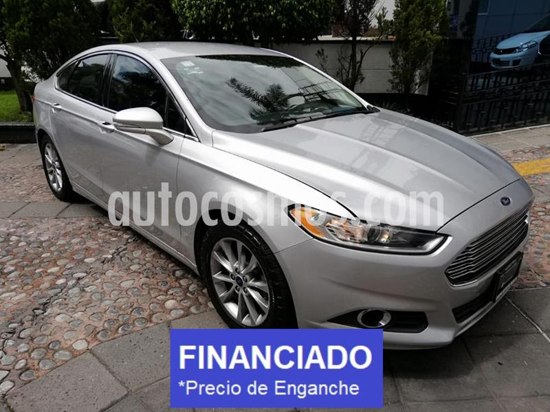 Ford Fusion SE Luxury Plus usado (2016) color Plata precio $56,250