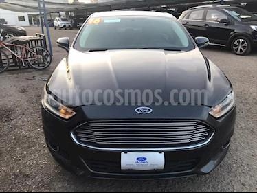 Ford Fusion SE LUXURY PLUS L4/2.0/T AUT usado (2016) color Gris Oscuro precio $240,000