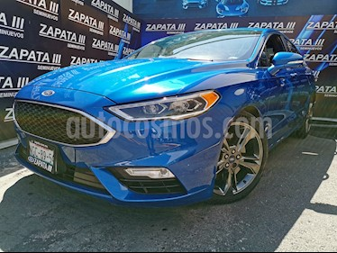 Ford Fusion Sport usado (2017) color Azul Relampago precio $420,000