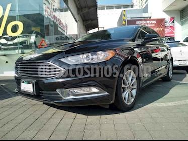 Ford Fusion SE Advance Nav usado (2017) color Negro precio $279,000