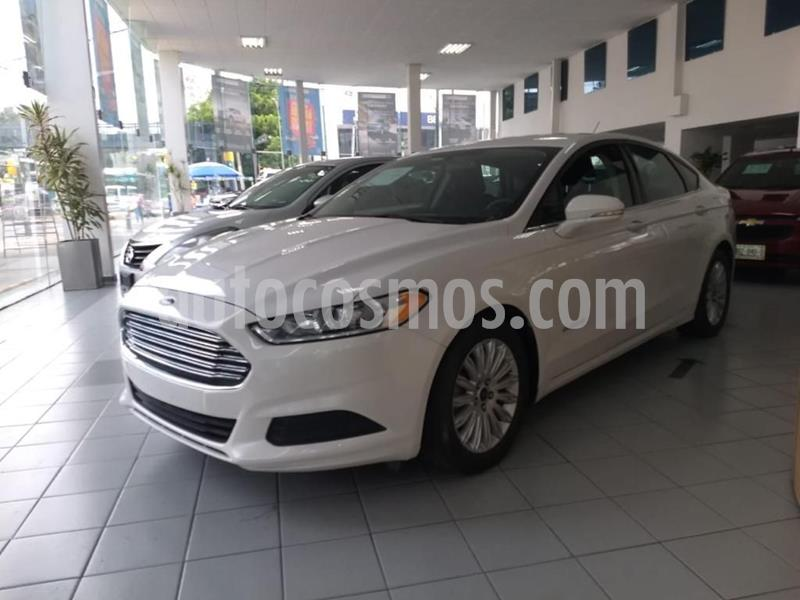 Ford Fusion SE LUX Hibrido usado (2016) color Blanco precio $230,000