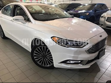 Foto Ford Fusion SE Luxury Plus usado (2017) color Blanco precio $333,000