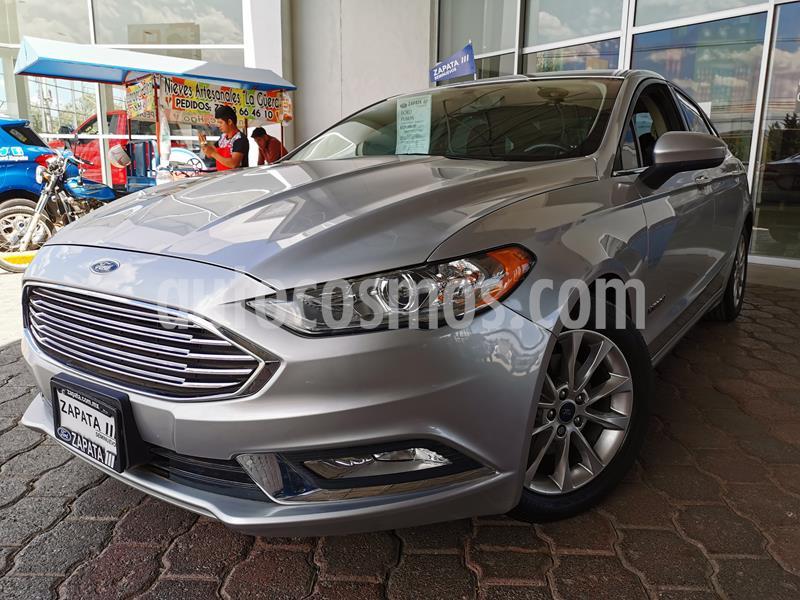 Foto Ford Fusion SE Hibrido usado (2017) color Plata Estelar precio $285,000