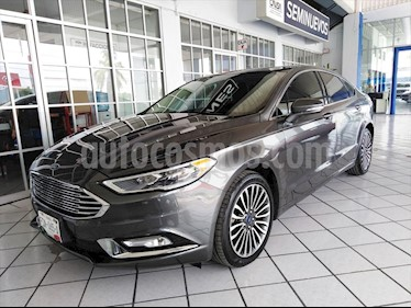Ford Fusion SE Luxury Plus usado (2017) color Gris Oscuro precio $355,000