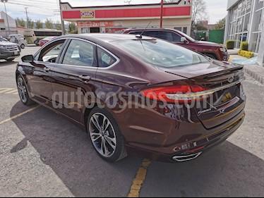 Ford Fusion S Aut usado (2017) color Rojo Vivo precio $340,000