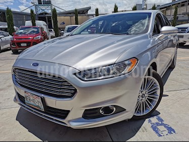 Ford Fusion SE Luxury Plus usado (2014) color Plata Estelar precio $199,000