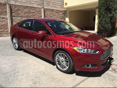 Ford Fusion SE Luxury usado (2016) color Rojo Rubi precio $193,000