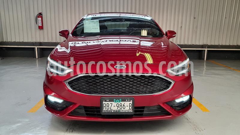 Ford Fusion Sport usado (2017) color Rojo Rubi precio $435,000