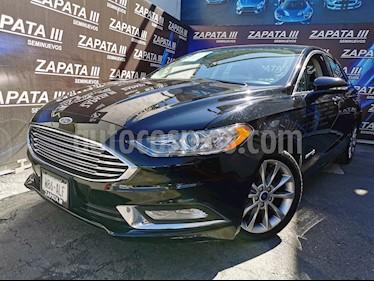 Ford Fusion SE LUX Hibrido usado (2017) color Negro Profundo precio $314,000