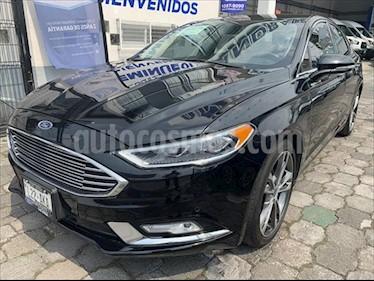Ford Fusion 4P TITANIUM PLUS L4/2.0/T AUT usado (2017) color Negro precio $385,800