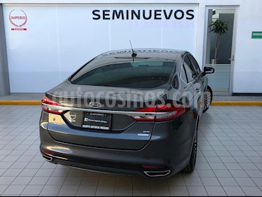 Ford Fusion SE Luxury Plus usado (2017) color Gris precio $319,000
