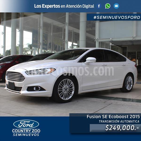 Ford Fusion SE usado (2015) color Blanco precio $249,000