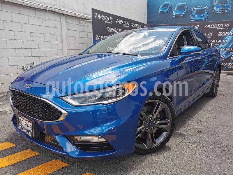 Ford Fusion Sport usado (2017) color Azul Relampago precio $387,000