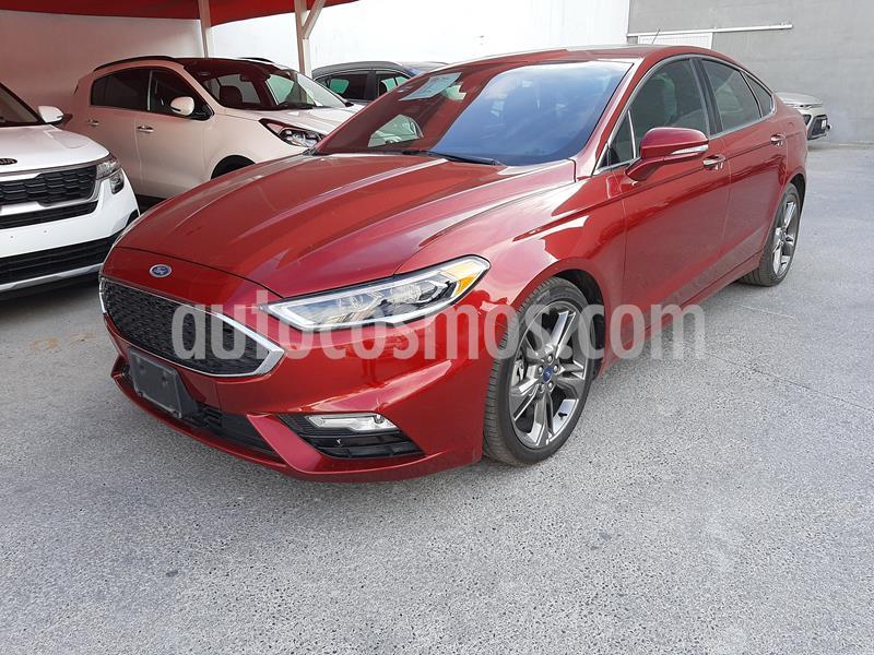 Ford Fusion Sport usado (2017) color Rojo Rubi precio $420,000