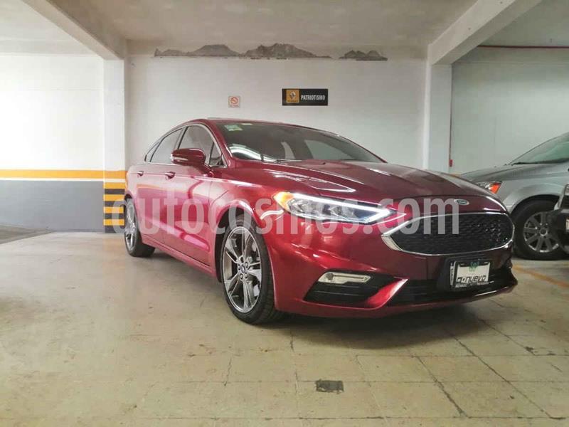 Ford Fusion Sport usado (2017) color Rojo precio $435,000