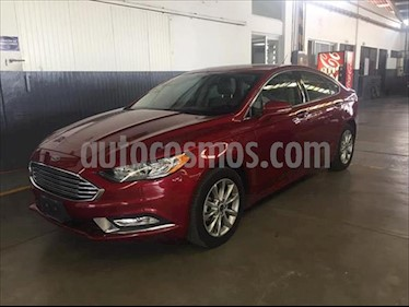 Ford Fusion SE ADVANCE NAV 2.5L I4 usado (2017) color Rojo precio $325,000