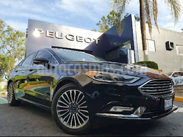 Ford Fusion 4p SE Luxury Plus L4/2.0/T Aut usado (2017) color Negro precio $299,900