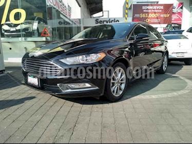 Ford Fusion SE Advance usado (2017) color Negro precio $320,000
