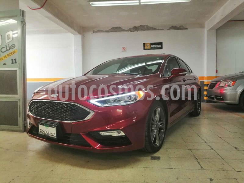 Foto Ford Fusion Sport usado (2017) color Rojo precio $435,000