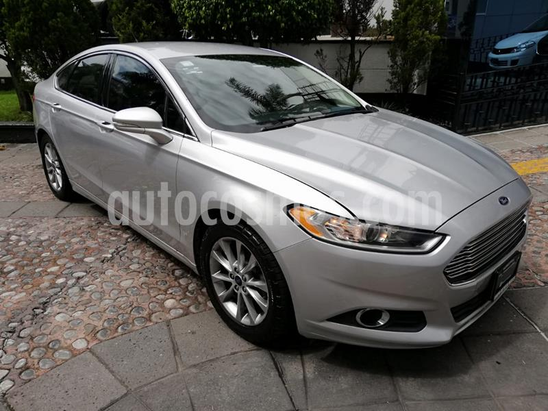 Ford Fusion SE Luxury Plus usado (2016) color Plata precio $215,000