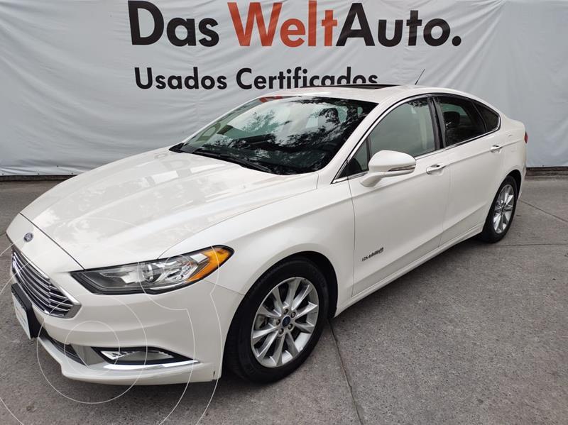 Foto Ford Fusion SE HYBRID AT usado (2017) color Blanco precio $350,000