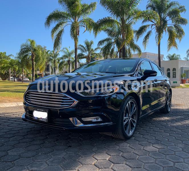 Ford Fusion Titanium Plus usado (2018) color Negro Profundo precio $449,999