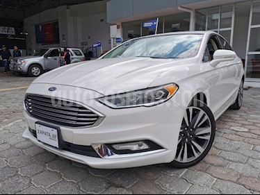 Ford Fusion SE Luxury Plus usado (2017) color Blanco Oxford precio $249,000