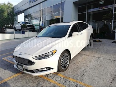 Ford Fusion SE LUX PLUS NAV 2L GTDI usado (2017) color Blanco precio $309,900