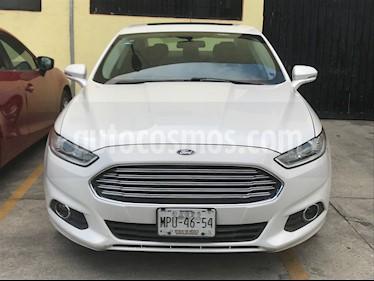 Ford Fusion SE usado (2014) color Blanco Platinado precio $170,000