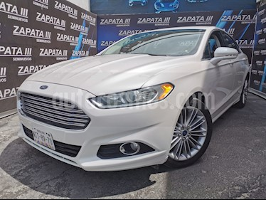 Ford Fusion SE Luxury Plus usado (2014) color Blanco Oxford precio $180,000