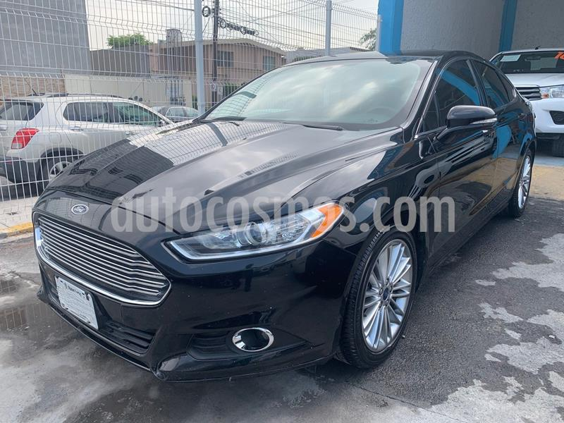 Ford Fusion SE Luxury Plus usado (2016) color Negro precio $235,000