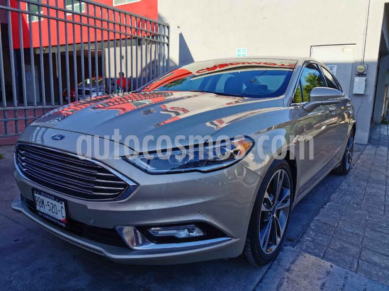 Ford Fusion Titanium Plus usado (2017) color Beige precio $279,000